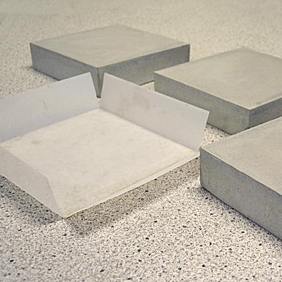 gjuta betongskiva tjocklek
