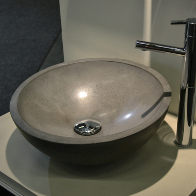 INCLINED SINK BOWL
