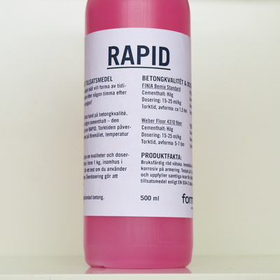RAPID, accelerating additive