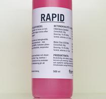 RAPID, accelererande tillsatsmedel