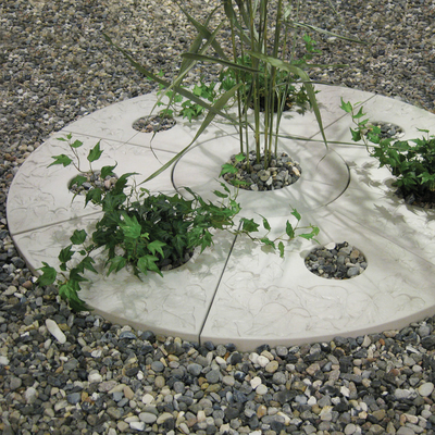 STEPPING STONE CURVED with hole