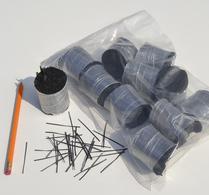 FIBER BETONG, svart 48 mm